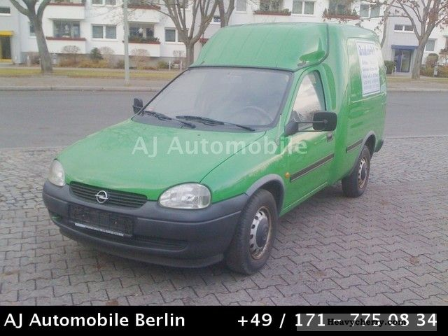 2000 Opel  Combo 1.4 85 TKM Green sticker Van or truck up to 7.5t Box-type delivery van photo