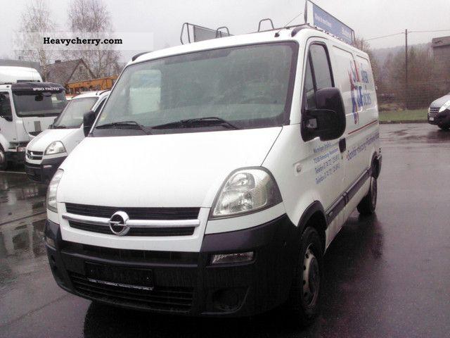 2005 Opel  2.5 Tdi L1H1 2pcs. Van or truck up to 7.5t Box-type delivery van photo