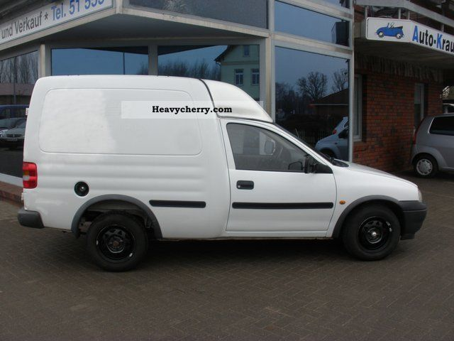 opel combo 1 7 d mot plus new 250 2000 box type delivery van photo and specs. Black Bedroom Furniture Sets. Home Design Ideas