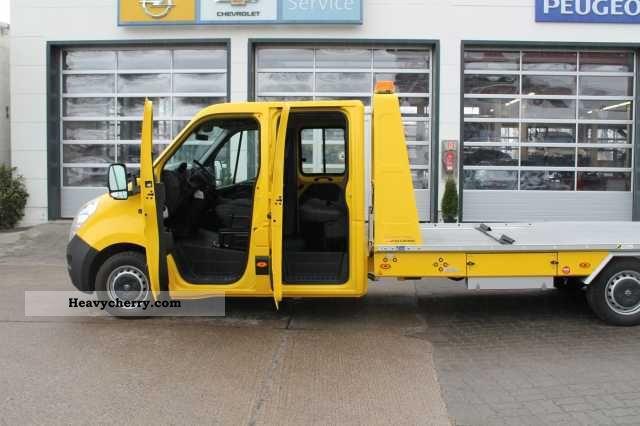 2011 Opel  B Movano 2.3 CDTI 150 (3.5T) L2H1 Abschleppfahrz Van or truck up to 7.5t Breakdown truck photo