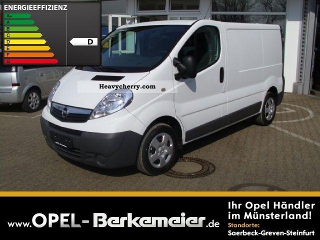 2012 Opel  2.0 CDTI Vivaro panel van (tow bar) K Van or truck up to 7.5t Box-type delivery van photo