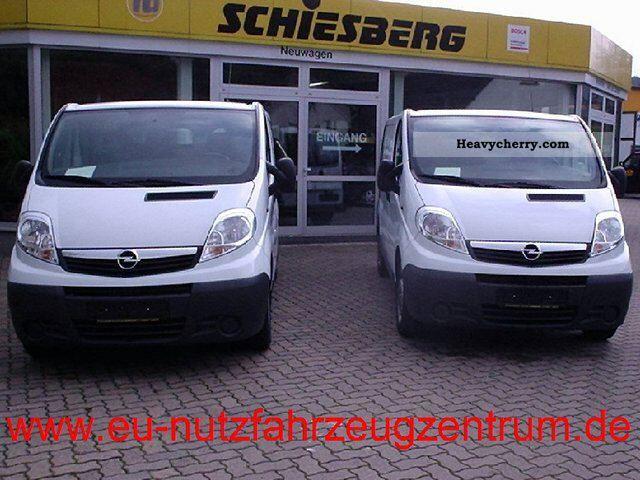 2011 Opel  2.0 CDTi Vivaro panel L2 H1 90HP 2.9 t Van or truck up to 7.5t Box-type delivery van - long photo