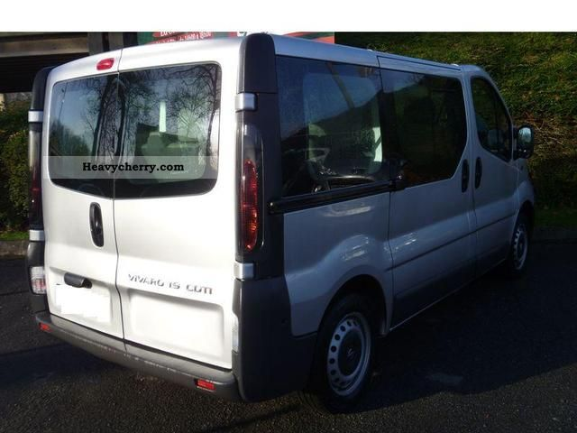 opel vivaro 9 place 2006 estate minibus up to 9 seats. Black Bedroom Furniture Sets. Home Design Ideas