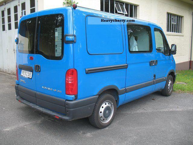 opel movano 1 9 dti glass transporter car registration. Black Bedroom Furniture Sets. Home Design Ideas