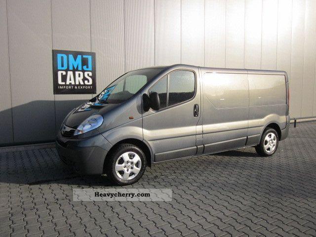 2011 Opel  BOX 2.0 CDTI Vivaro L2H1 115hp AIR!! Van or truck up to 7.5t Box-type delivery van - long photo