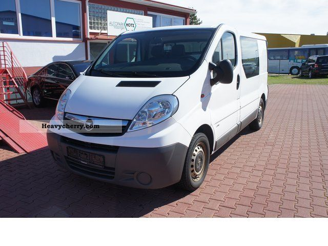 opel vivaro 2 5 cdti 2900 apc climate 2007 box type. Black Bedroom Furniture Sets. Home Design Ideas