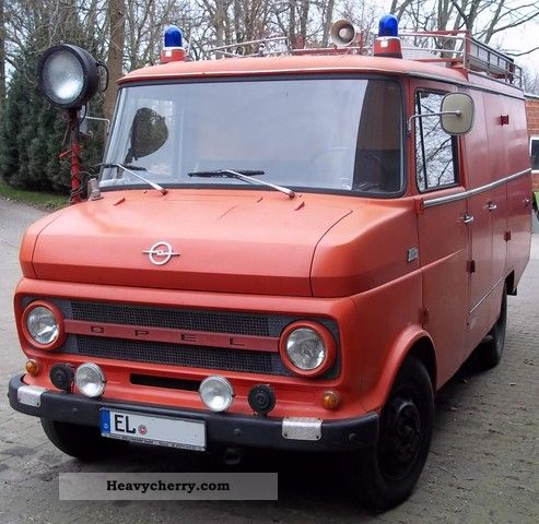 1971 Opel  Flash Van or truck up to 7.5t Ambulance photo