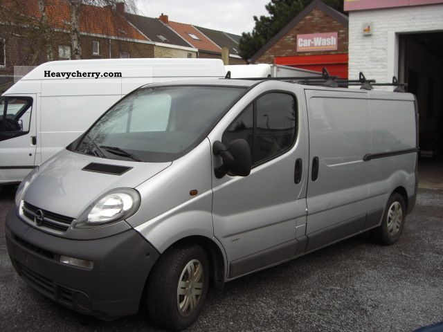 opel vivaro 2 5 cdti 2006 other vans trucks up to 7 photo. Black Bedroom Furniture Sets. Home Design Ideas