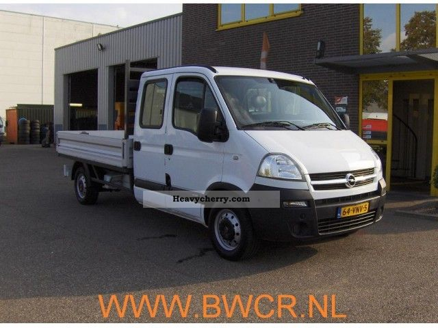 2008 Opel  Movano 2.5CDTI Van or truck up to 7.5t Chassis photo