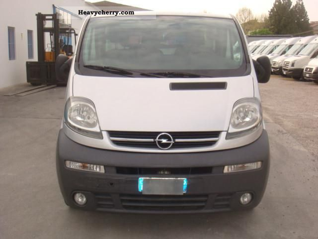 opel vivaro 1 9 cdti 2002 other vans trucks up to 7 photo and specs. Black Bedroom Furniture Sets. Home Design Ideas