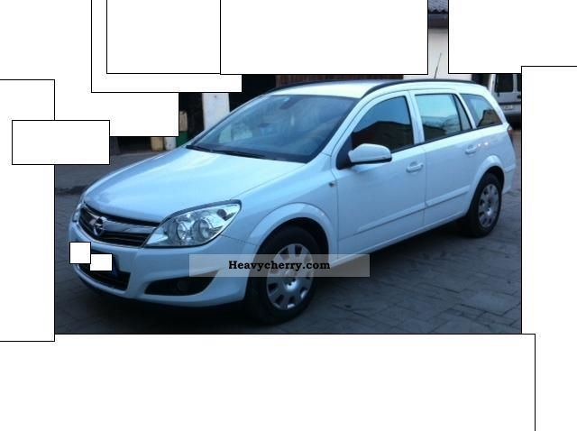 2008 Opel  Astra 1.7 CDTI navigation, climate, MAL, truck registration! Van or truck up to 7.5t Estate - minibus up to 9 seats photo