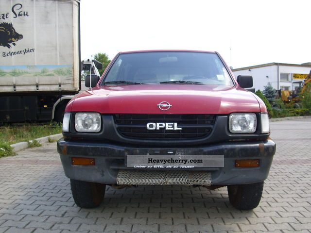 1999 Opel  Campo - S 4x4 pick-up 3.1 Van or truck up to 7.5t Box-type delivery van photo