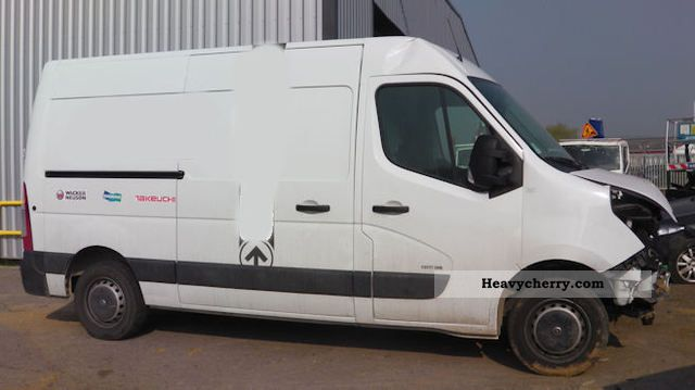 2011 Opel  MOVANO CDTI Van or truck up to 7.5t Box-type delivery van photo
