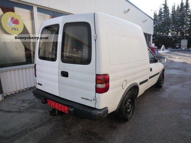 2000 Opel  Combo 1.7 diesel Van or truck up to 7.5t Box-type delivery van photo