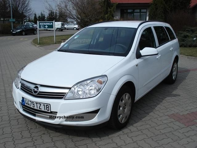 2008 Opel  Astra 1.7 Hdi Ciężarowy 2-os VAN Van or truck up to 7.5t Other vans/trucks up to 7 photo