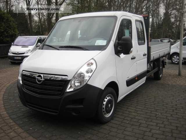 2011 Opel  Movano 2.3 CDTI Dopkab Dreiseitenkipper Van or truck up to 7.5t Tipper photo