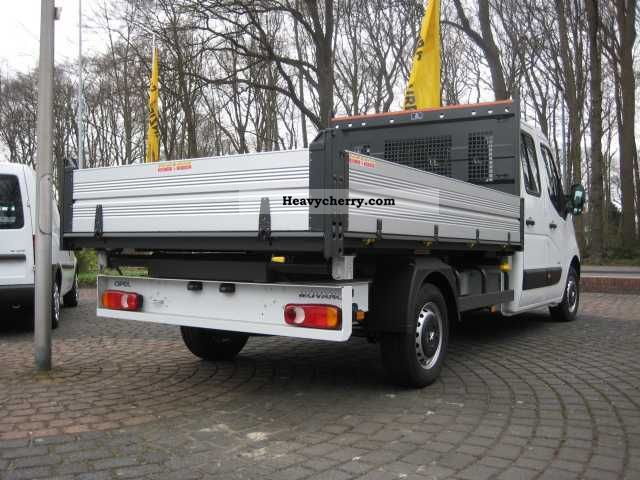 opel movano 2 3 cdti dopkab dreiseitenkipper 2011 tipper. Black Bedroom Furniture Sets. Home Design Ideas
