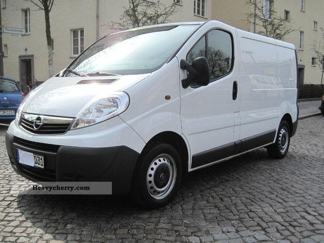 2008 Opel  3-seater Vivaro CDTi AIR! VAT + DPF +92000 KM! Van or truck up to 7.5t Other vans/trucks up to 7 photo