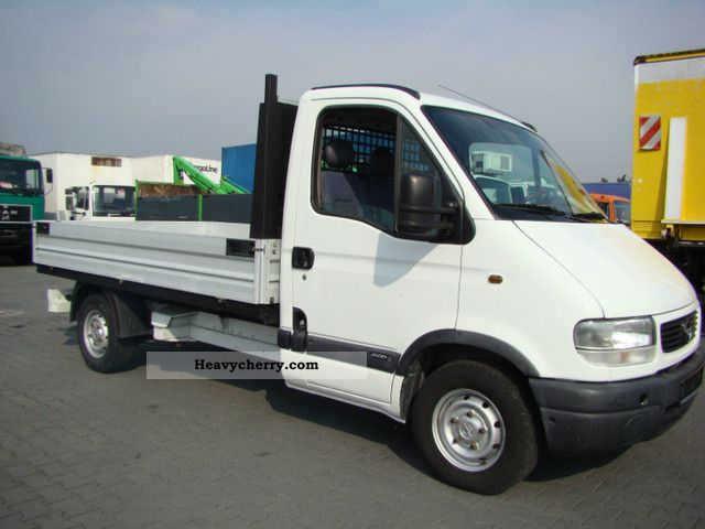 opel movano tdi 2000 other vans trucks up to 7 photo and specs. Black Bedroom Furniture Sets. Home Design Ideas