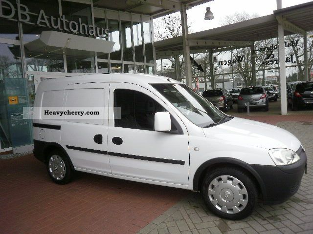 2008 Opel  Combo Box 1.7 CDTI EFH / EASP / ZVmFB Van or truck up to 7.5t Box-type delivery van photo