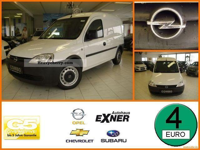 2008 Opel  Combo DPF Van or truck up to 7.5t Box-type delivery van photo