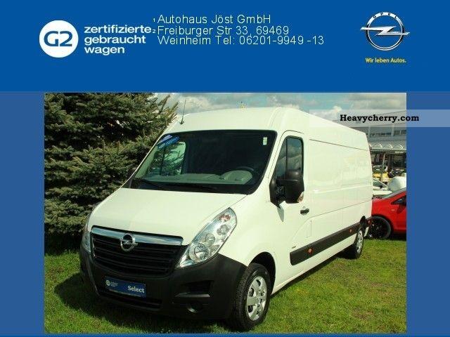2011 Opel  Movano 2.3 CDTI L3H2 2WD 3.5t Van or truck up to 7.5t Box-type delivery van photo