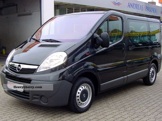 opel vivaro 2 0 cdti l1h1 combi 9 seater air esp zv 2008. Black Bedroom Furniture Sets. Home Design Ideas