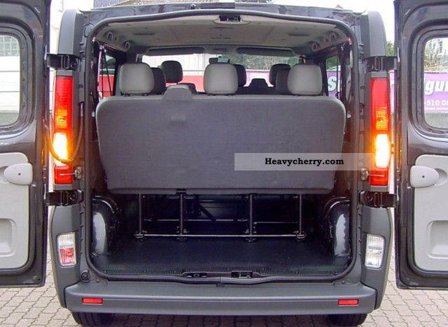 c6727c0511b5d8 ... 2008 Opel Vivaro 2.0 CDTI L1H1 combi 9 seater air eSp ZV Van or truck  up ...