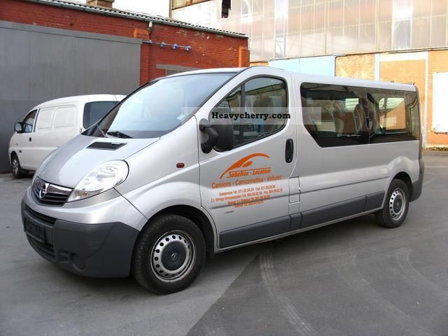2008 Opel  2900 Vivaro 2.0 TDCI Euro 4 long air 9 seats Van or truck up to 7.5t Estate - minibus up to 9 seats photo