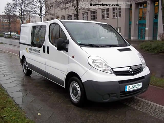 opel vivaro 2 0 cdti l2h1 box 2010 other vans trucks up to 7 photo and specs. Black Bedroom Furniture Sets. Home Design Ideas