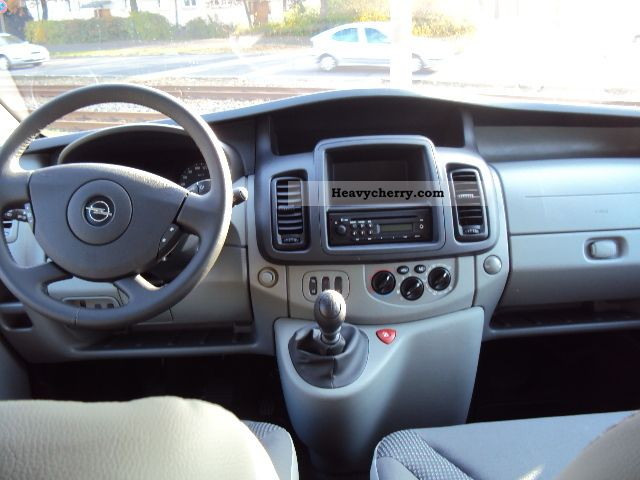 2012 Opel Vivaro - Partsopen