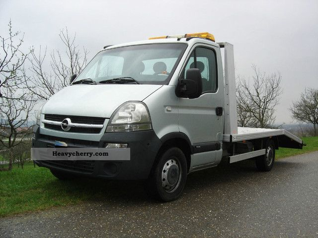 2005 Opel  Movano 2.5 CDTI tow * Climate * € 11,700 * Van or truck up to 7.5t Breakdown truck photo