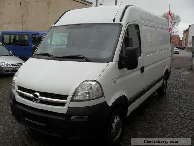 opel movano l2h2 panel vans 2007 box type delivery van high and long photo and specs. Black Bedroom Furniture Sets. Home Design Ideas