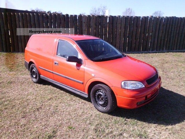 2005 Opel  Astra Caravan 1.7 TDI Air Conditioning Van or truck up to 7.5t Box-type delivery van photo