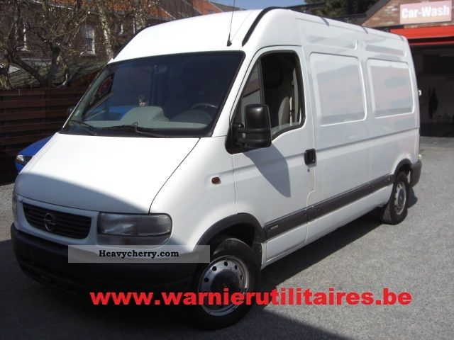 2005 Opel  Movano Van or truck up to 7.5t Other vans/trucks up to 7 photo