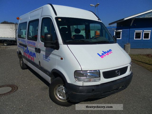 2000 Opel  Movano Van or truck up to 7.5t Estate - minibus up to 9 seats photo