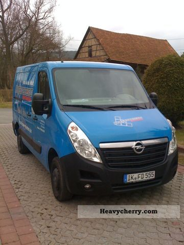 2011 Opel  Movano Van or truck up to 7.5t Box-type delivery van photo