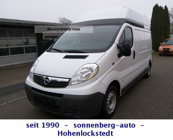 2008 Opel  2.0 CDTI Vivaro L2H2 box * TOP CONDITION * Van or truck up to 7.5t Box-type delivery van - high and long photo