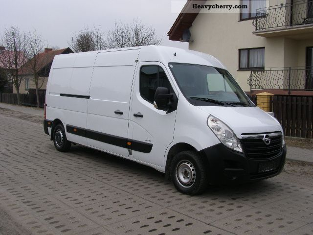 2010 Opel  MOVANO Van or truck up to 7.5t Box-type delivery van - high and long photo
