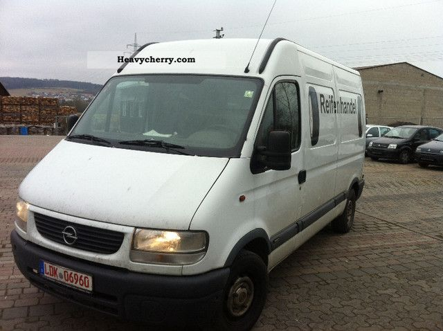 2000 Opel  Movano Van or truck up to 7.5t Box-type delivery van - high and long photo