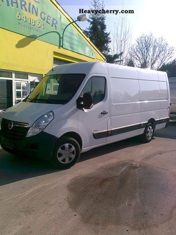 2011 Opel  Movano Van or truck up to 7.5t Box-type delivery van - high and long photo