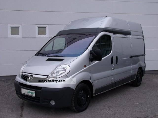 opel vivaro 2 5 cdti l2h2 navi 2008 box type delivery van high and long photo and specs. Black Bedroom Furniture Sets. Home Design Ideas