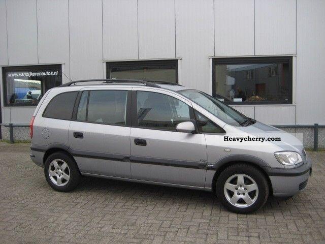 Opel Zafira 2 0 Dti Van 2003 Box