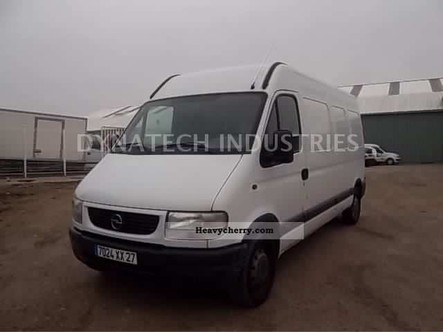 2003 Opel  MOVANO Van or truck up to 7.5t Box photo