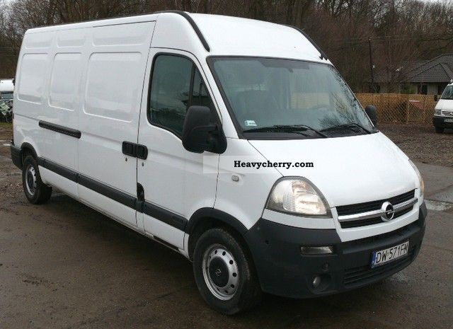 2008 Opel  Movano Van or truck up to 7.5t Box-type delivery van photo