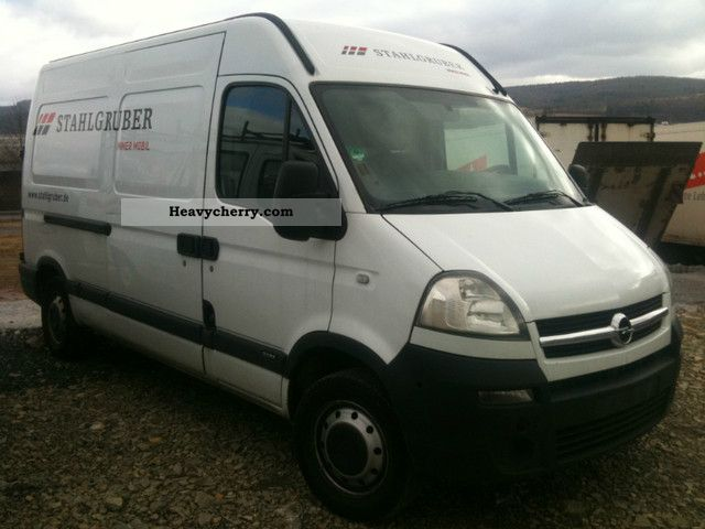 2007 Opel  movano Van or truck up to 7.5t Box-type delivery van - high and long photo