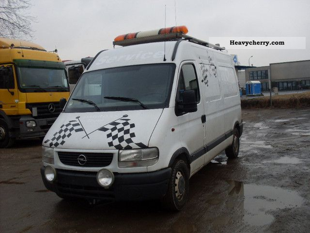 2002 Opel  Movano Van or truck up to 7.5t Box-type delivery van - high photo