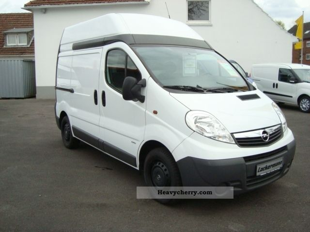 opel vivaro l1h2 panel vans 2009 box type delivery van photo and specs. Black Bedroom Furniture Sets. Home Design Ideas