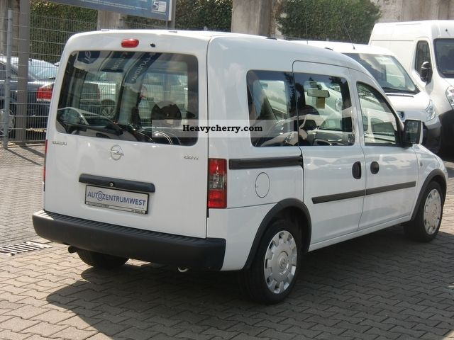 opel combo combo c 1 3cdti edition 2 air xschiebet 2009 estate minibus up to 9 seats truck. Black Bedroom Furniture Sets. Home Design Ideas