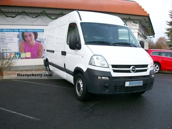 opel movano l2h2 2 5 cdti 120ps vans 2009 box type delivery van photo and specs. Black Bedroom Furniture Sets. Home Design Ideas